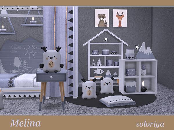 Melina toddler bedrooms by soloriya at TSR image 1729 Sims 4 Updates