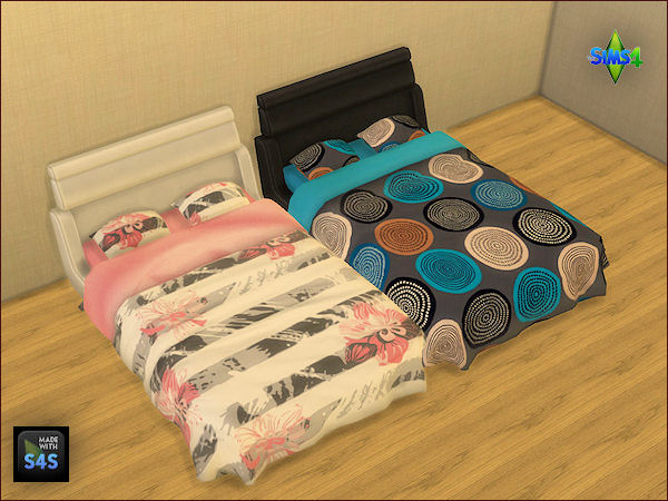 4 sets of beddings by Mabra at Arte Della Vita image 1731 Sims 4 Updates
