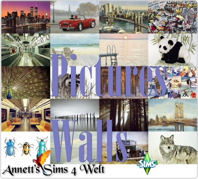 Pictures Walls at Annett's Sims 4 Welt image 17311 670x606 Sims 4 Updates