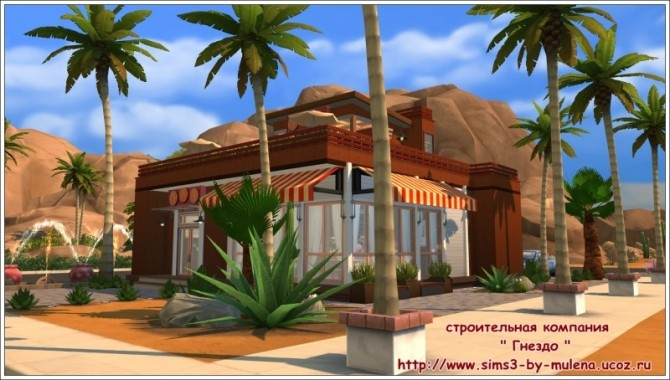 Sims 4 Caprice restaurant at Sims by Mulena