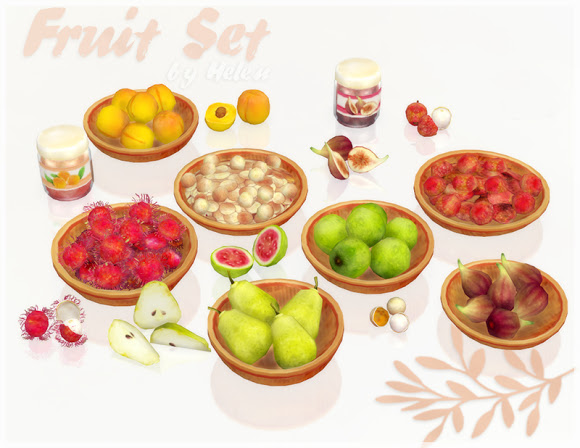Fruit Set at Helen Sims image 1758 Sims 4 Updates