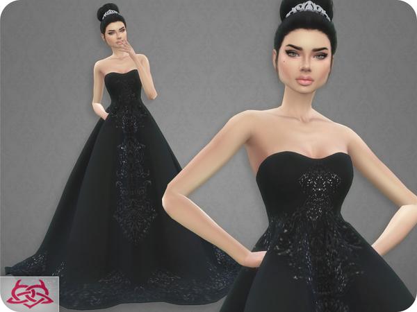 wedding dress 7colores urbanos at tsr » sims 4 updates
