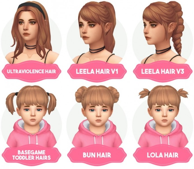 Clay Hair Recolors Updated at Aveira Sims 4 image 1767 670x583 Sims 4 Updates