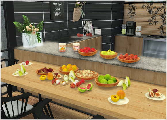 Fruit Set at Helen Sims image 1768 Sims 4 Updates
