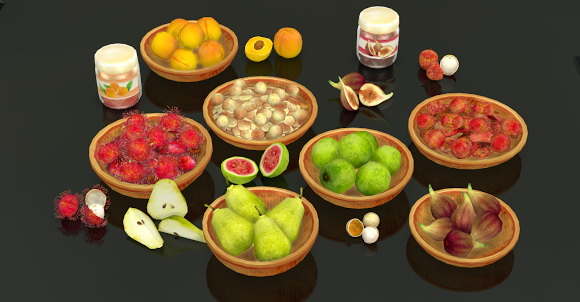 Fruit Set at Helen Sims image 1776 Sims 4 Updates