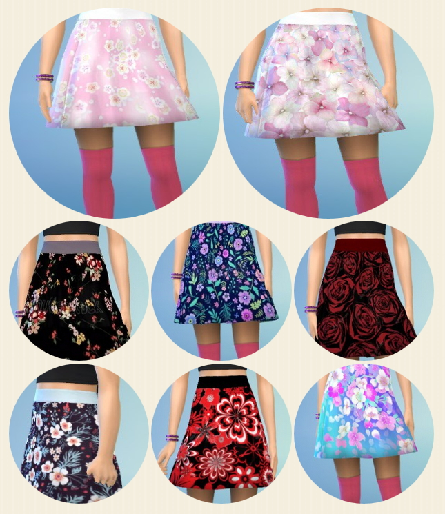 Sims 4 Lady's Skirts at Birksches Sims Blog