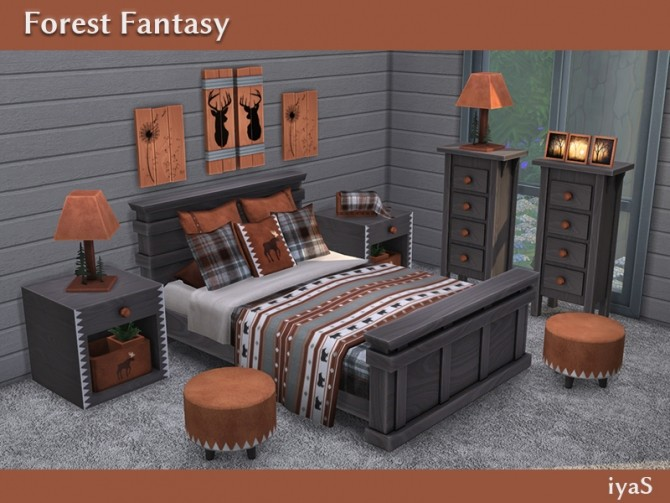 Forest Fantasy bedroom at Soloriya image 1806 670x503 Sims 4 Updates