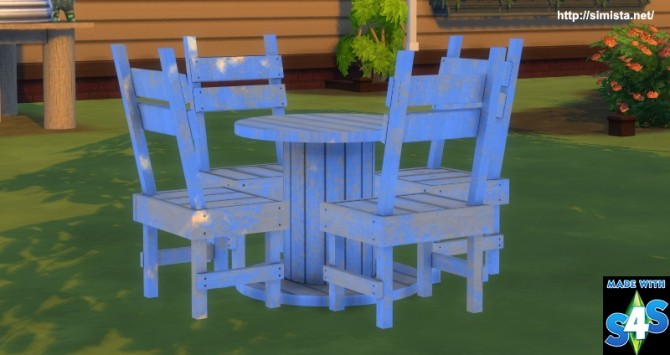 Distressed outdoor seting at Simista image 18114 670x355 Sims 4 Updates