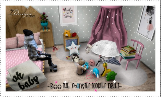 Boo The Monster Toddler Tablet at Daer0n – Sims 4 Designs image 1818 670x406 Sims 4 Updates