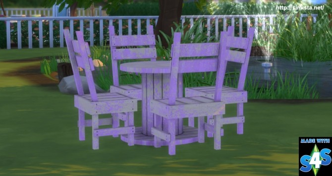 Distressed outdoor seting at Simista image 18211 670x355 Sims 4 Updates