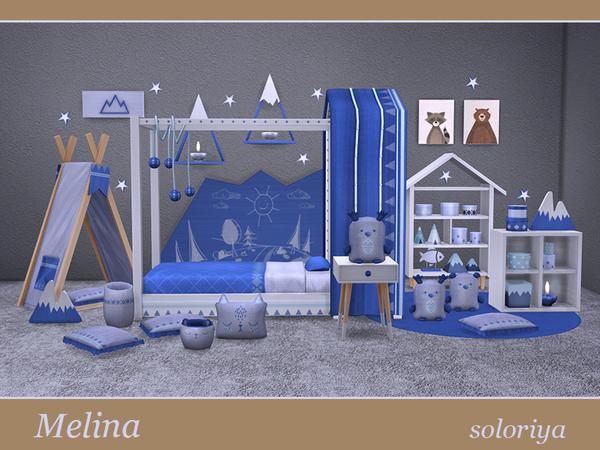 Melina toddler bedrooms by soloriya at TSR image 1828 Sims 4 Updates