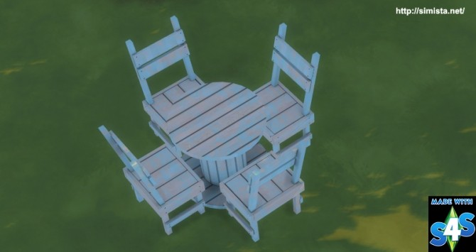 Distressed outdoor seting at Simista image 18310 670x355 Sims 4 Updates
