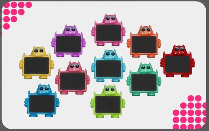 Boo The Monster Toddler Tablet at Daer0n – Sims 4 Designs image 1833 670x420 Sims 4 Updates