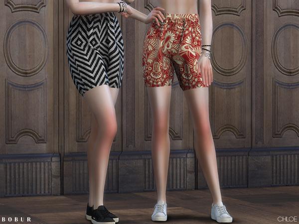 Chloe shorts by Bobur3 at TSR image 1839 Sims 4 Updates