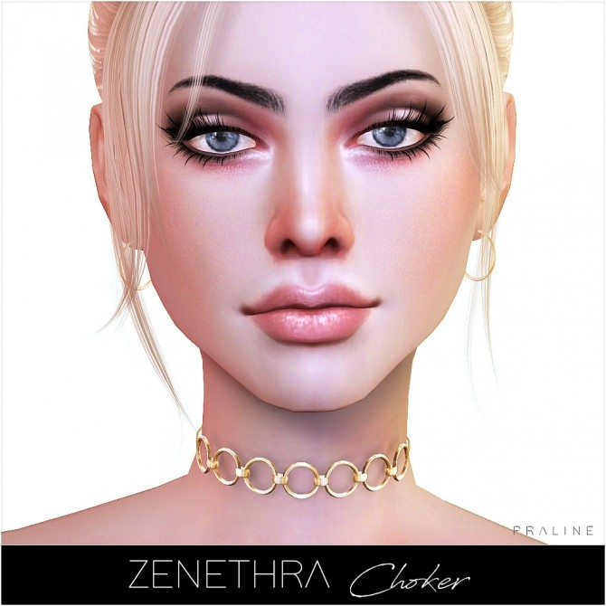 Zenethra Choker at Praline Sims image 1885 670x670 Sims 4 Updates