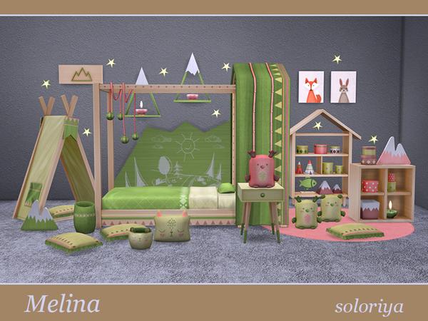 Melina toddler bedrooms by soloriya at TSR image 1926 Sims 4 Updates