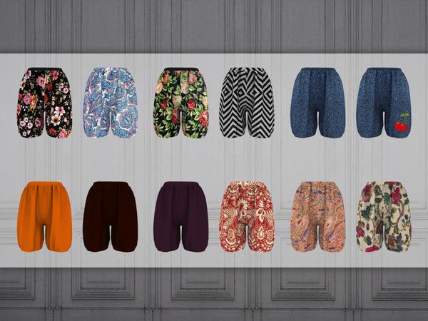 Chloe shorts by Bobur3 at TSR image 1930 Sims 4 Updates