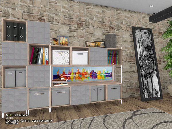 Jfarden Office Accessories by ArtVitalex at TSR image 1932 Sims 4 Updates