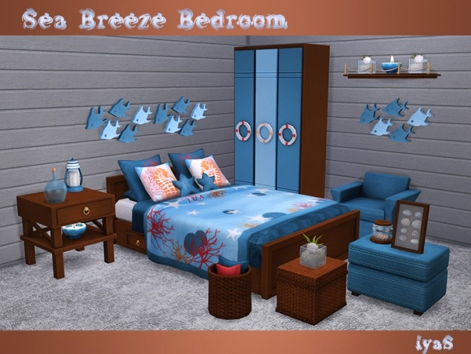 Sea Breeze Bedroom at Soloriya image 1965 670x503 Sims 4 Updates