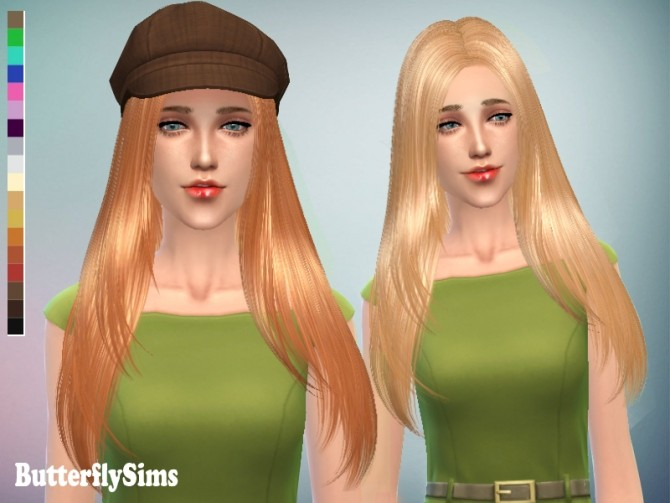 Hair 122 by YOYO (free) at Butterfly Sims image 1983 670x503 Sims 4 Updates