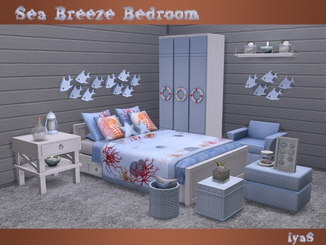 Sea Breeze Bedroom at Soloriya image 1995 670x503 Sims 4 Updates