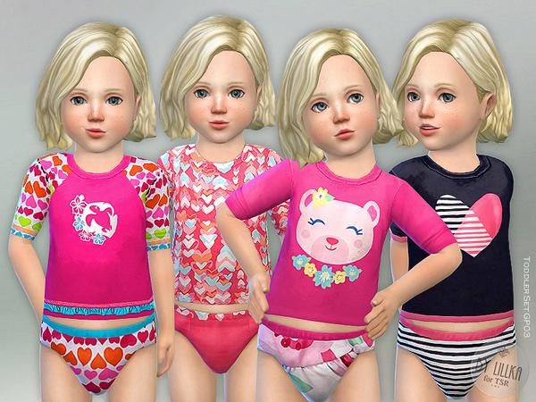 Sims 4 Toddler Set GP03 by lillka at TSR