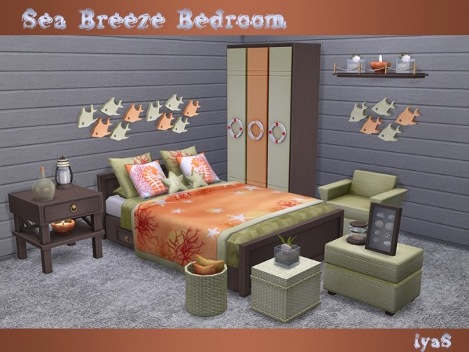 Sea Breeze Bedroom at Soloriya image 2005 670x503 Sims 4 Updates