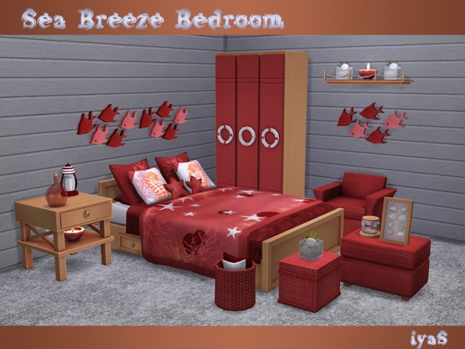 Sea Breeze Bedroom at Soloriya image 20111 670x503 Sims 4 Updates
