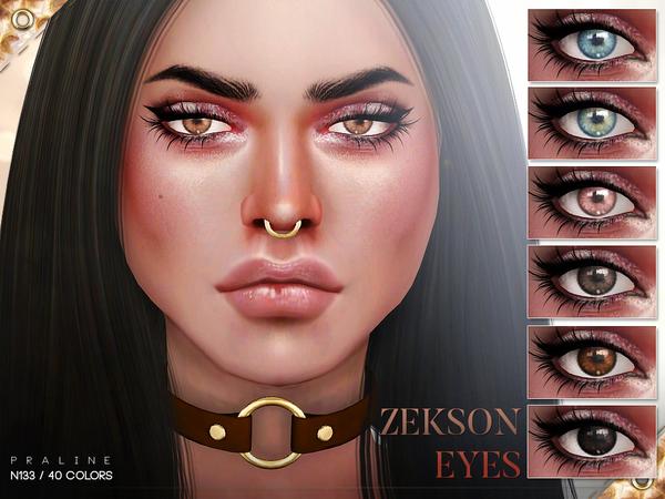 Zekson Eyes N133 by Pralinesims at TSR image 2015 Sims 4 Updates
