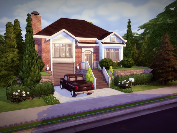 Split Level House by melcastro91 at TSR image 2029 Sims 4 Updates