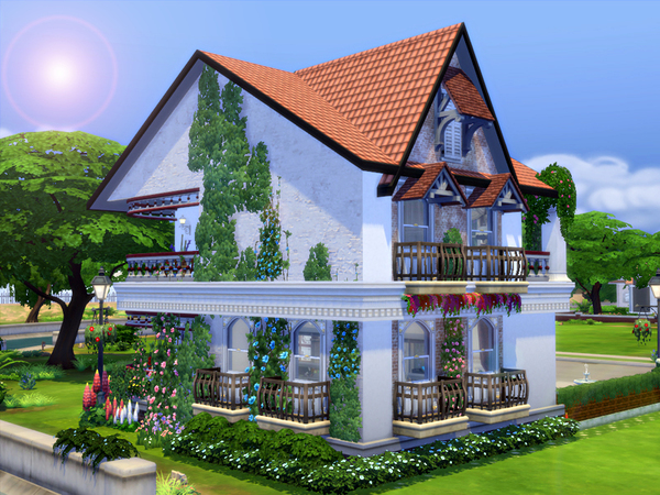 Delicje Ristorante by marychabb at TSR image 2052 Sims 4 Updates