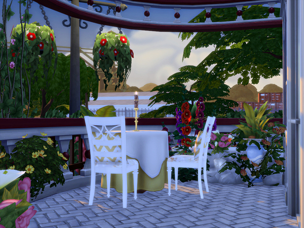 Delicje Ristorante by marychabb at TSR image 2062 Sims 4 Updates