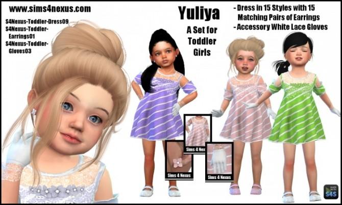 Sims 4 Yuliya set by SamanthaGump at Sims 4 Nexus