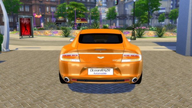 Aston Martin Rapide 2010 (UPDATE) at OceanRAZR image 2108 670x377 Sims 4 Updates