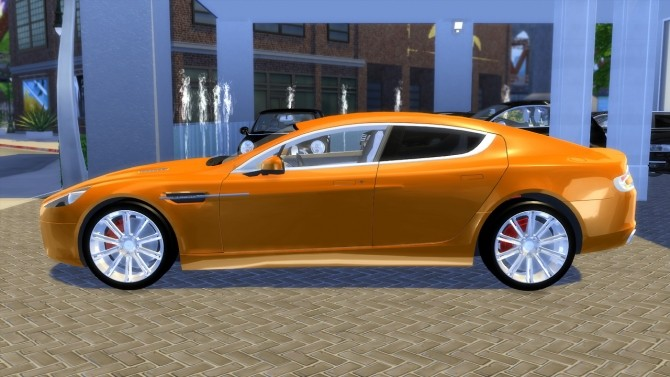 Aston Martin Rapide 2010 (UPDATE) at OceanRAZR image 21110 670x377 Sims 4 Updates