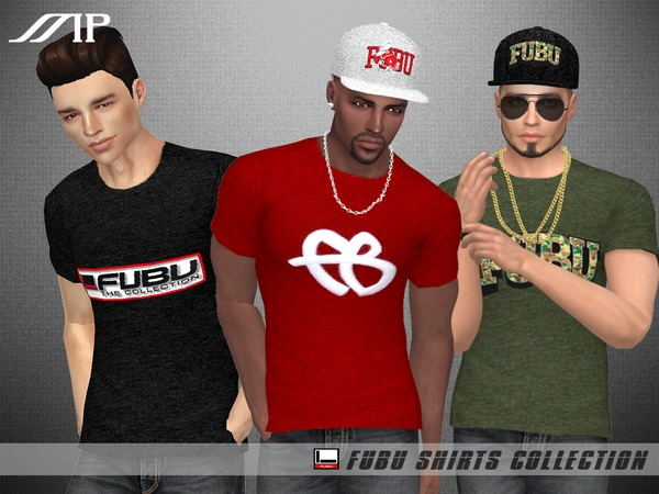 Sims 4 MP Male FUBU Collection Shirts by MartyP at TSR