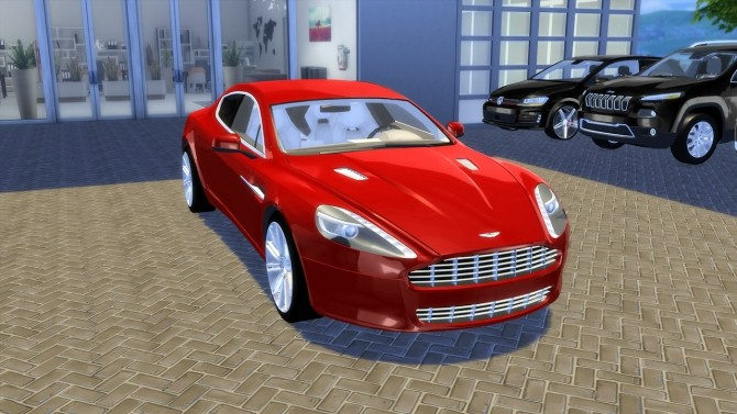 Aston Martin Rapide 2010 (UPDATE) at OceanRAZR image 2123 670x377 Sims 4 Updates