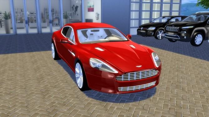 Sims 4 Aston Martin Rapide 2010 (UPDATE) at OceanRAZR