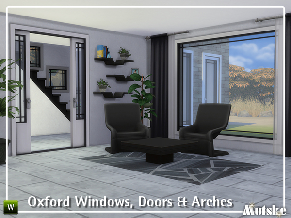 Oxford Windows, Doors and Arches by mutske at TSR image 2138 Sims 4 Updates