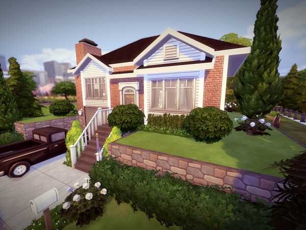 Split Level House by melcastro91 at TSR image 2139 Sims 4 Updates