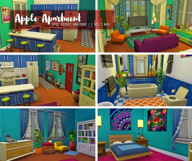 Sims 4 Happy Apple Day set at The Plumbob Tea Society