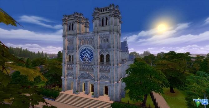 Notre Dame de Paris by audrcami at L'UniverSims image 218 670x349 Sims 4 Updates