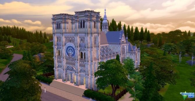 Notre Dame de Paris by audrcami at L'UniverSims image 219 670x349 Sims 4 Updates