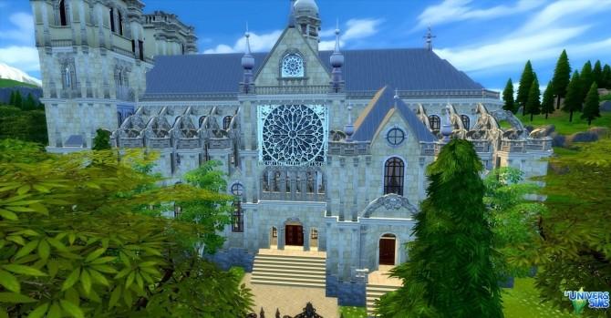 Notre Dame de Paris by audrcami at L'UniverSims image 220 670x349 Sims 4 Updates