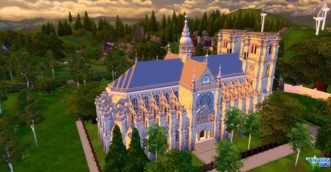 Notre Dame de Paris by audrcami at L'UniverSims image 2211 670x349 Sims 4 Updates