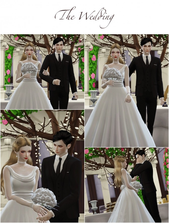 Wedding Project Re edit Poses Sets at Flower Chamber image 2213 670x883 Sims 4 Updates