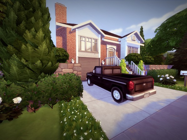 Split Level House by melcastro91 at TSR image 2229 Sims 4 Updates