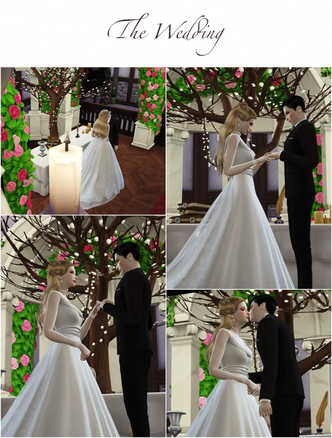 Wedding Project Re edit Poses Sets at Flower Chamber image 2231 670x883 Sims 4 Updates