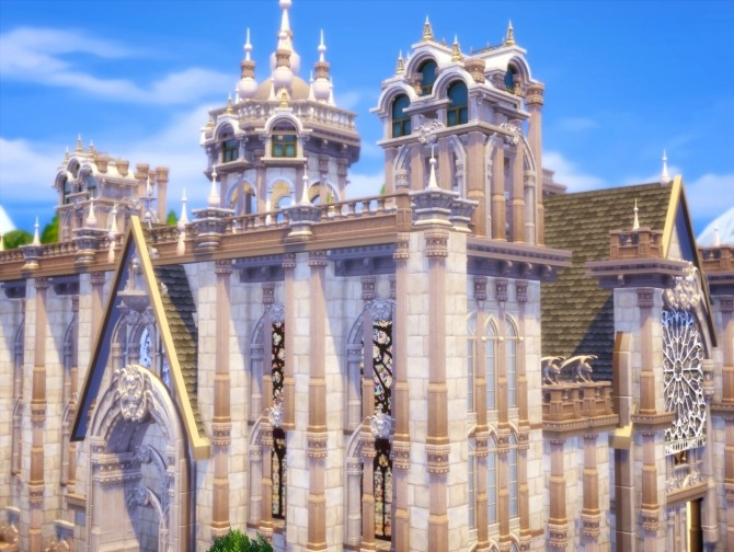 St. Bunnie's Cathedral at Akai Sims image 2242 670x504 Sims 4 Updates