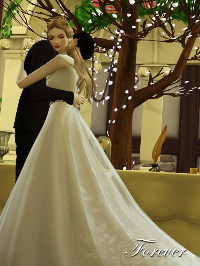 Wedding Project Re edit Poses Sets at Flower Chamber image 2251 670x893 Sims 4 Updates